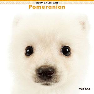 THE DOG カレンダー ポメラニアン (2019年)