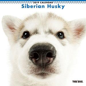 THE DOG カレンダー シベリアンハスキー (2019年)
