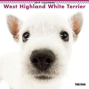 THE DOG カレンダー ウェストハイランドホワイトテリア (2019年)