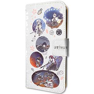 手帳型スマホケース(iPhone6/6s/7/8兼用)「活撃 刀剣乱舞」01/第二部隊(グラフアートデザイン)