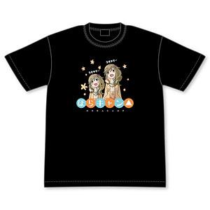 ゆるキャン△ 犬山姉妹のほらキャン△Tシャツ L
