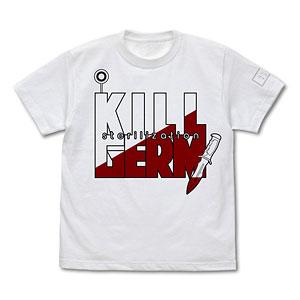 はたらく細胞 白血球(好中球)の殺菌 Tシャツ/WHITE-XL