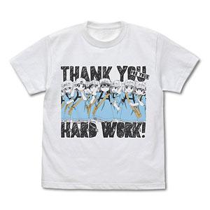 はたらく細胞 血小板のおつかれさまです Tシャツ/WHITE-XL