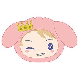 あんさんぶるスターズ!×サンリオキャラクターズ おまんじゅうにぎにぎマスコット 24.鳴上嵐