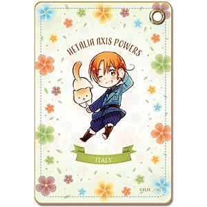 ヘタリア Axis Powers レザーパスケース デザイン10(イタリア/ちびキャラ)