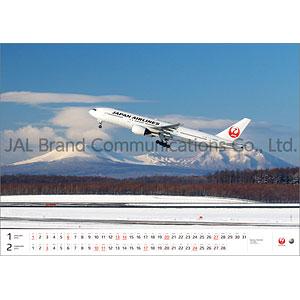 JAL「FLEET」(大型判) 2019年カレンダー