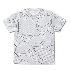 転生したらスライムだった件 リムル様 オールプリントTシャツ/WHITE-S