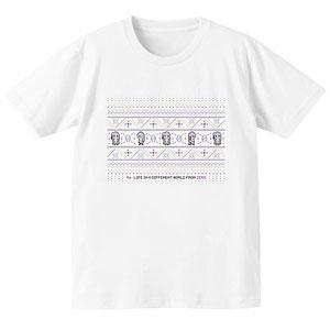 Re:ゼロから始める異世界生活 ノルディックデザインTシャツ(エミリア)/メンズ(サイズ/L)