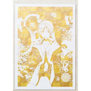 【限定販売】伽羅切絵「夏目友人帳」市松に露草(いちまつにつゆくさ)