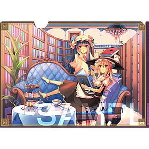 波天宮『東方Project』クリアファイル~Pair Collection~「霧雨魔理沙&パチュリー」-illust.kirero-