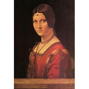 ジグソーパズル ミラノ貴婦人の肖像(ダ・ヴィンチ) 300ピース(300-182)