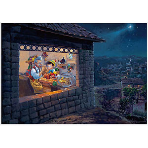 ジグソーパズル ディズニー ザ ウィッシング スター(ピノキオ) 1000ピース (D1000-035)