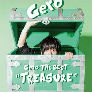 """CD Gero The Best """"Treasure"""" 初回限定盤A"""