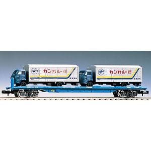 2770 私有貨車 クム80000形(4tトラック2台付)