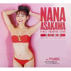 【特典】浅川梨奈 ファースト・トレーディングカード 20BOX入りカートン