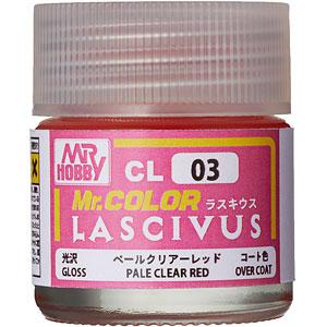Mr.カラー LASCIVUS(ラスキウス) クリアーペールレッド 10ml 〈光沢〉