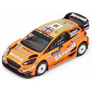 1/43 フォード フィエスタ WRC 2018年ラリー・スウェーデン #14 H.Solberg / C.Menkerud