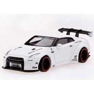 1/64 LB★WORKS Nissan GT-R R35 GTウイング マットホワイト (右ハンドル)