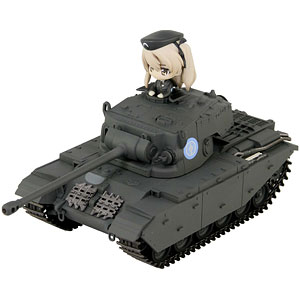 巡航戦車A41センチュリオン エンディングVer.通常版 島田愛里寿フィギュア1体付き 塗装済み完成品