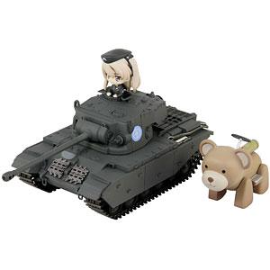 巡航戦車A41センチュリオン エンディングVer.DX ヴォイテク付き 島田愛里寿フィギュア1体付き 塗装済み完成品