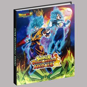 スーパードラゴンボールヒーローズ 4ポケットバインダーセット ブロリーVer.