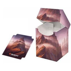 マジック:ザ・ギャザリング [アンステイブル] 大型デッキボックス/山