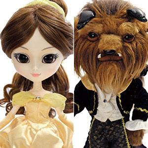 ドールコレクション 美女と野獣 Belle(ベル)・Beast(ビースト) 2体セット