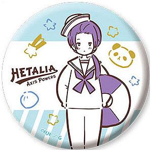 ヘタリア Axis Powers 缶バッジ 8 中国
