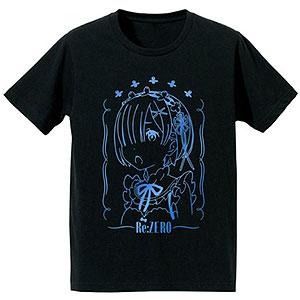 Re:ゼロから始める異世界生活 箔プリントTシャツ(レム)/レディース(サイズ/L)