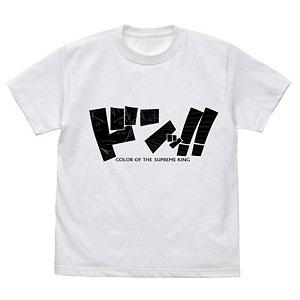 ワンピース ルフィの覇気 Tシャツ/WHITE-S