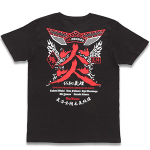 Musikleidung THE IDOLM@STER CINDERELLA GIRLS Tシャツ 炎陣 S