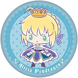 Fate/Grand Order×サンリオ ぷにぷに缶バッジ アルトリア・ペンドラゴンver.