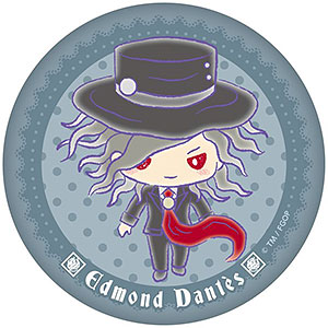 Fate/Grand Order×サンリオ ぷにぷに缶バッジ 巌窟王 エドモン・ダンテスver.