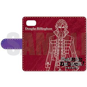 DOUBLE DECKER! ダグ&キリル 手帳型スマホケース(iPhoneX) A ダグ