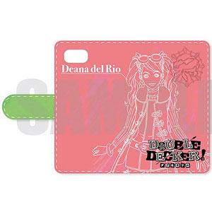 DOUBLE DECKER! ダグ&キリル 手帳型スマホケース(iPhoneX) C ディーナ