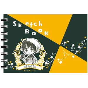 ヘタリア World★Stars ミニ図案スケッチブック 日本