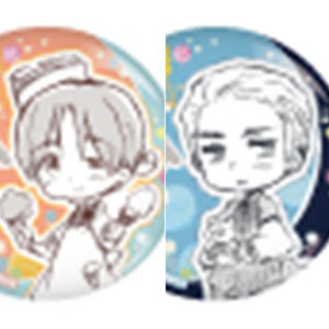 ヘタリア World★Stars トレーディング丸型缶バッジ 11個入りBOX