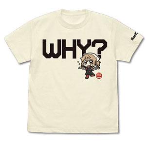 艦隊これくしょん -艦これ- なんで?な満潮の秋刀魚mode Tシャツ/VANILLA WHITE-L
