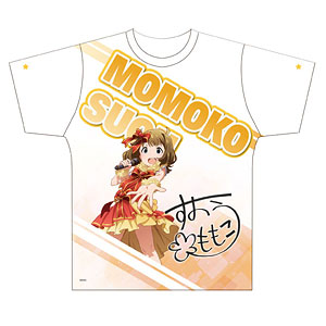 アイドルマスターミリオンライブ! 両面フルグラフィックTシャツ 周防桃子 Mサイズ