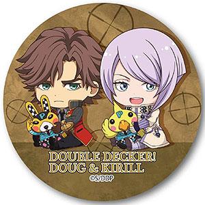 ぎゅぎゅっと缶バッチ DOUBLE DECKER! ダグ&キリル ダグ&キリル