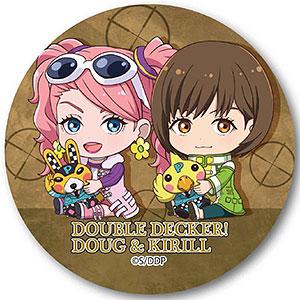 ぎゅぎゅっと缶バッチ DOUBLE DECKER! ダグ&キリル ディーナ&ケイ