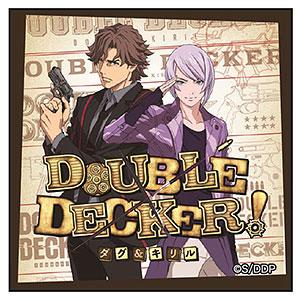 DOUBLE DECKER!ダグ&キリル スクエア缶バッジ ティザービジュアル