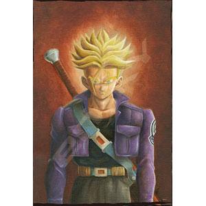 ジグソーパズル ドラゴンボールZ 肖像画『トランクス(青年)』 300ピース (300-1511)