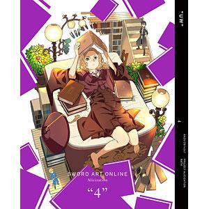 BD ソードアート・オンライン アリシゼーション 4 完全生産限定版 (Blu-ray Disc)