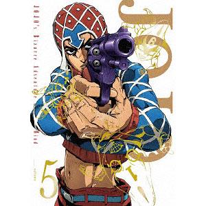 DVD ジョジョの奇妙な冒険 黄金の風 Vol.5 初回仕様版