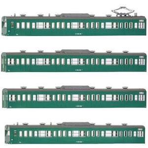 18018 国鉄(JR)103系〈低運・非ユニット窓・冷改車・エメラルドグリーン〉 基本4両編成ボディキットB
