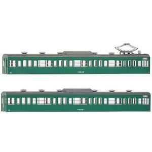 18019 国鉄(JR)103系〈低運・非ユニット窓・冷改車・エメラルドグリーン〉 増結用モハ2両ボディキット