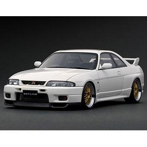 1/18 日産 スカイライン GT-R (R33) V-spec White