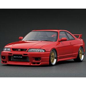 1/18 日産 スカイライン GT-R (R33) V-spec Red