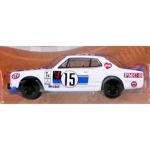 1/64 Tokyo Torque Series 5 - 1972 Nissan Skyline 2000 GT-R - #15 1972 Fuji 300km Speed Race